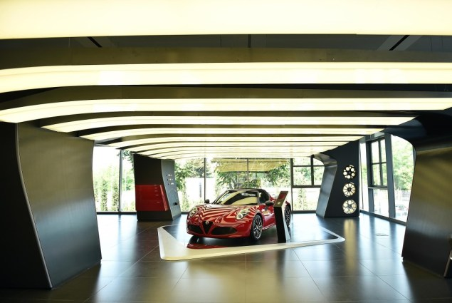14_Motor Village Arese _Showroom Alfa Romeo