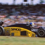 1986-07-27-GP-Germania_Minardi_Nannini1