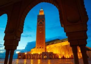 Hassan II Mosque in Casablanca, Morocco Africa 59952034