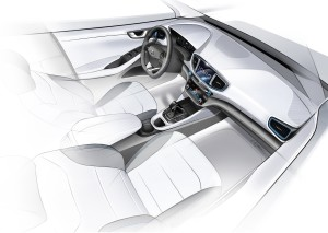 interni Nuova Hyundai Ioniq