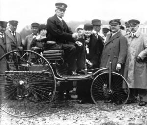 Benz-Patent-Motorwagen, Carl Benz in München, 1925