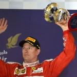 GP BAHRAIN F1/2016 podio kimi