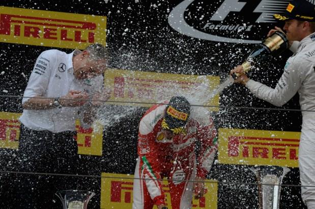 GP CINA F1/2016 podio