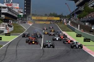GP SPAGNA F1/2016 partenza