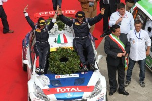 Paolo Andreucci, Anna Andreussi (Peugeot 208 T16 R5 #1, F.P.F. Sport)