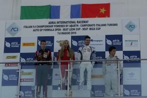IF4C 2016 Adria podio Rookie e donne Gara 3