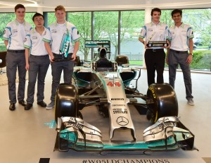 Union-Racing-International-visit-MERCEDES-AMG-PETRONAS-F1-Team