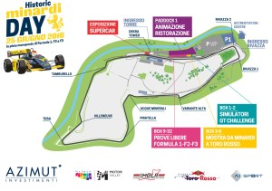 Historic Minardi Day – Imola, Map