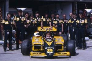 il-team-minardi-nel-1988