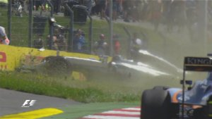 rosberg incidente