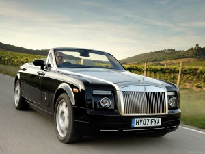 Rolls Royce Phantom cabrio