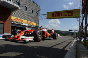 kimi GP BELGIO F1/2016