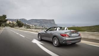 The new Mercedes-AMG SLC Press Test Drive, Cap-Ferrat 2016