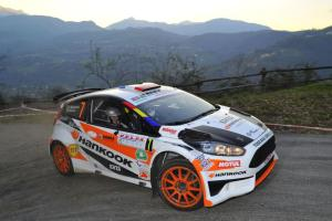 Simone Tempestini, Marc Banca (Ford Fiesta R5 R5 #7, Wrt-Winners Rally Team)