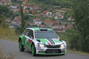 Umberto Scandola, Guido Damore (Skoda Fabia R R5 #3, Car Racing)