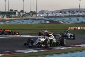 primi quattro GP ABU DHABI F1/2016