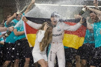 World Championship Win - Abu Dhabi 2016