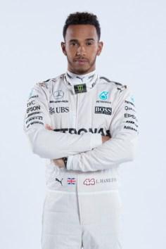 Driver Studio Shots - Lewis Hamilton
