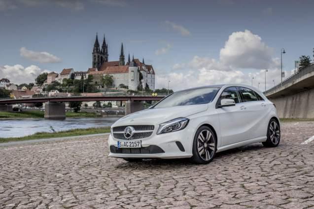 Pressefahrveranstaltung Mercedes Benz, A-Klasse, Dresden Septem