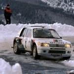 018 – WRC 1985. RMC. Vatanen/Harryman. Peugeot 205 Turbo 16. Vainqueur