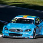 62 BJORK Thed (swe) Volvo S60 Polestar team Polestar Cyan Racing action during the 2017 FIA WTCC World Touring Car Race of Italy at Monza WTCC MONZA 2017