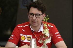 binotto GP CINA F1/2017