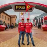 Visita de Kimi Raikkonen a Ferrari Land 1