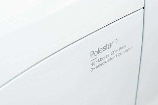 Polestar 1 exterior detail, front wing