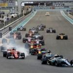 GP ABU DHABI F1/2017 start