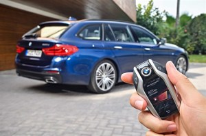 BMW serie 5 interni