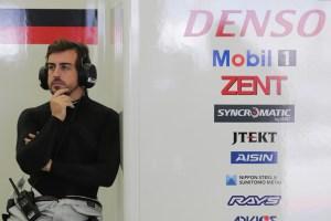 WEC Testing Fernando Alonso