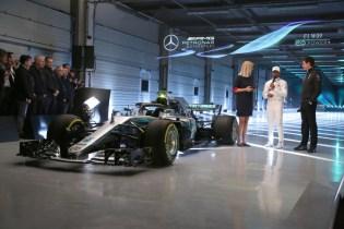 F1 W09 EQ Power+ Launch, Silverstone - Steve Etherington