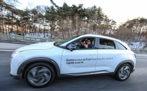 NEXO Autonomous Fuel Cell Electric Vehicle