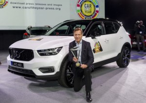 car of the year volvo
