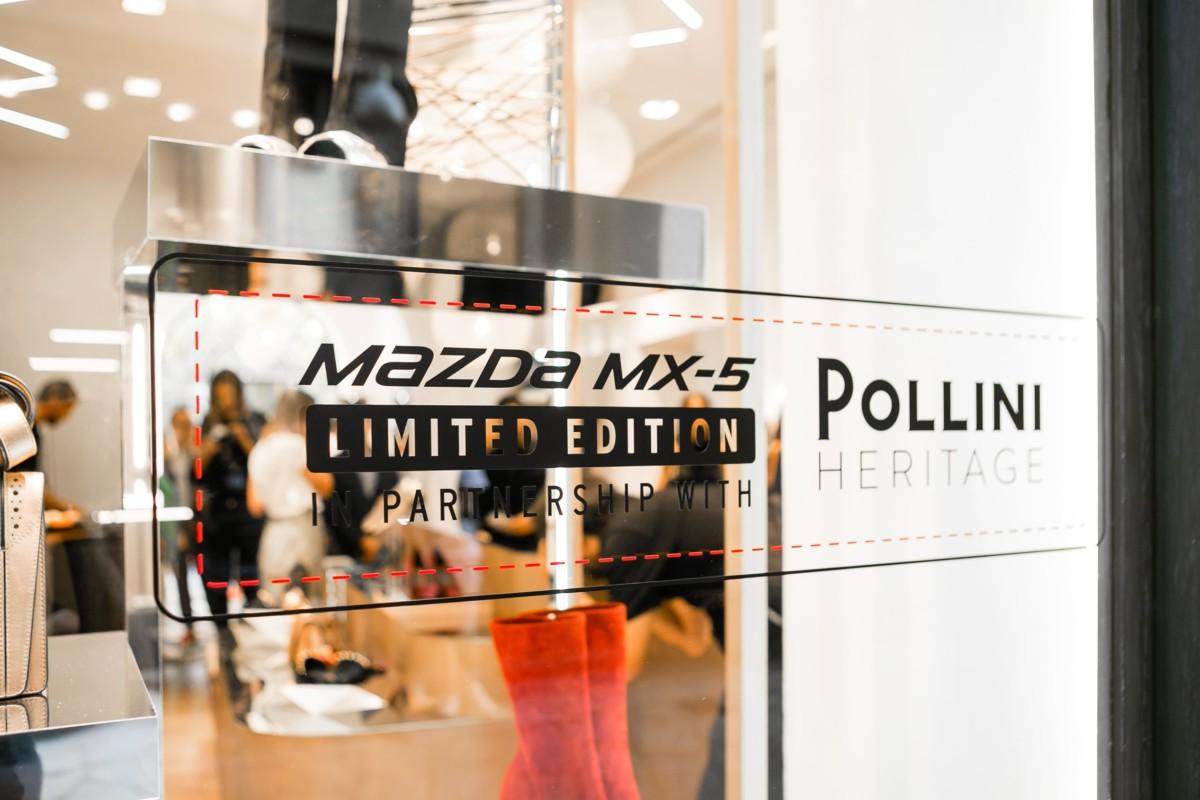 8e016fd2b2 Mazda MX-5 in partnership with Pollini Heritage | MotoriNoLimits.com