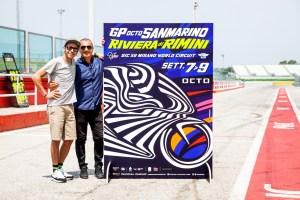 Valentino Rossi e Aldo Drudi