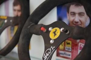 Museo Nicolis F1 Alboreto 88 con foto