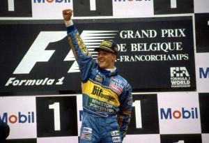 schumi belgio 1995