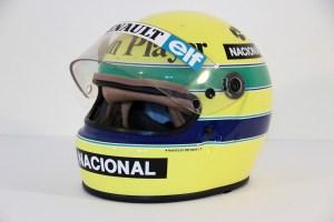 1985 Senna Helmet (worn)2