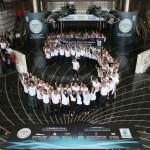 Valtteri Bottas celebrates the fifth World Constructors Championship with PETRONAS-1