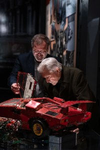 Marcello Gandini e Giosuè Boetto Cohen