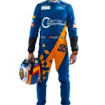 Carlos Sainz 2019 Driver Overalls with helmet