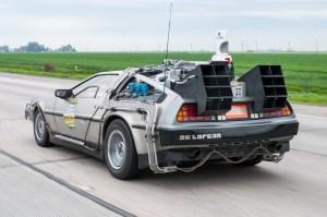 DeLorean di Ritorno al Futuro