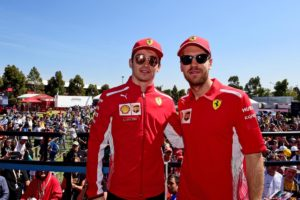 GP AUSTRALIA F1/2019 vettel leclerc
