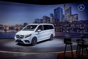 Vorstellung der neuen Mercedes-Benz V-Klasse 2019 Presentation of the new Mercedes-Benz V-Class 2019