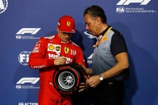 Pirelli Pole Position Award - 2019 Bahrain Grand Prix