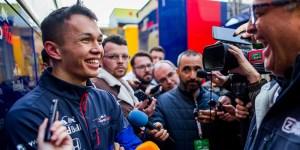 Presentazione GP Australia 2019 con Alexander Albon