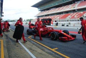 vettel test F1