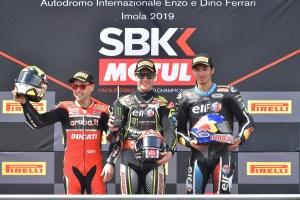 podio-gara-1-worldsbk imola
