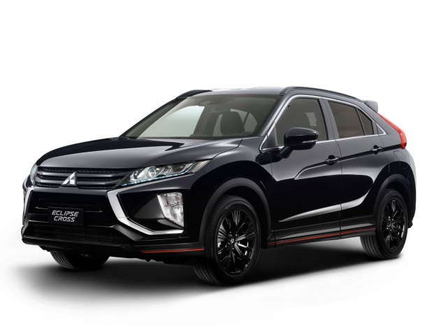 Eclipse Cross Knight_Frontale_Fari_Accesi